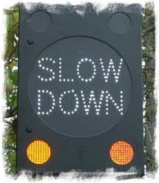 Slow down - Downshifting