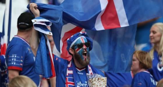 Euro 2016 in Frankreich: Isländische Fans