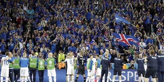 Euro 2016: Portugal – Island 1:1 – die isländischen Fans feiern ihre Mannschaft
