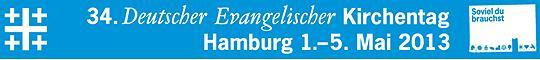 34. Deutscher Evangelischer Kirchentag in Hamburg 2013