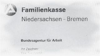 Familienkasse Niedersachsen - Bremen