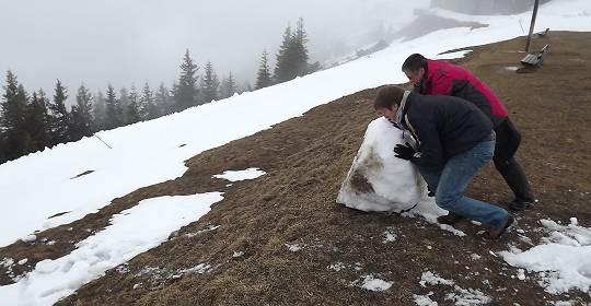 Auf dem Wank bei Garmisch-Partenkirchen 2012