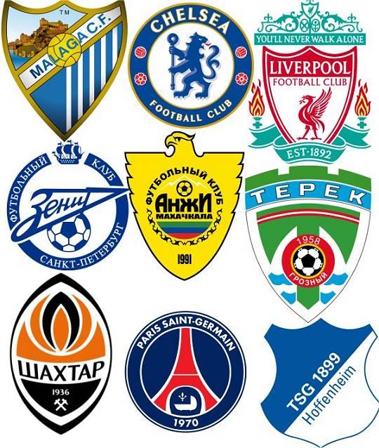 gekaufte Fußball-Clubs in Europa