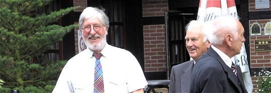 Appel 2007: Willi mit Günter (†) und Klaus Koslowski (†)