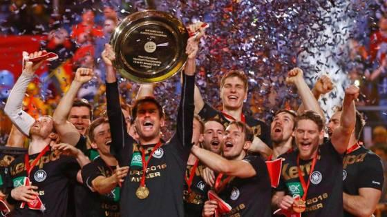 Handball-Europameister 2016: das deutsche Team