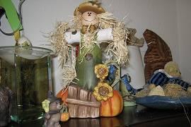 Herbstliche Dekoration bei AlbinZ im Haus 2013