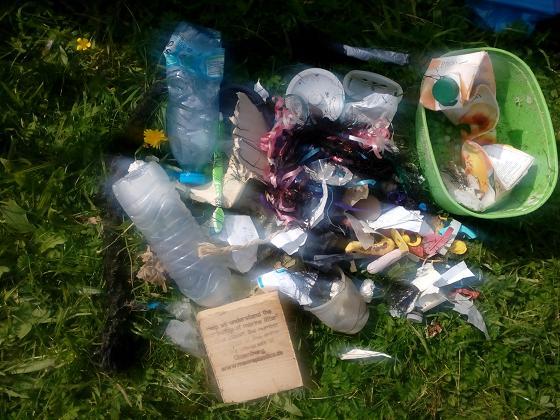 Hallig Hooge 2017: Plastikmüll vom Strand