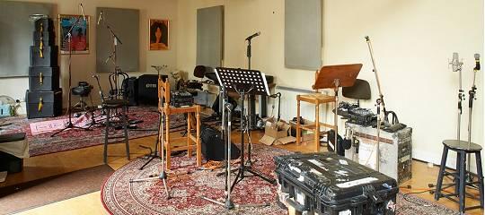 Ian Andersons Herrengut Braydon Hall in Wiltshire: Tonstudio