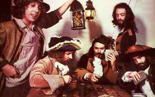 Jethro Tull 1972/1973: John Evan – Martin Barre - Jeffrey Hammond – Ian Anderson - Barriemore Barlow