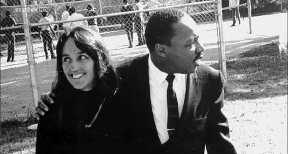 Joan Baez und Martin Luther King