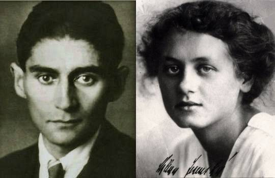 Franz Kafka & Milena Jesenská