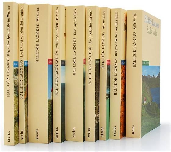 Halldór Laxness-Buchpaket in neun Bänden
