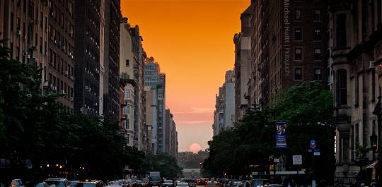 Manhattanhenge – New York 11.07.2014