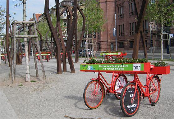 Mannheim Ostern 2017 – Augustaanlage – 200 Jahre Fahrrad