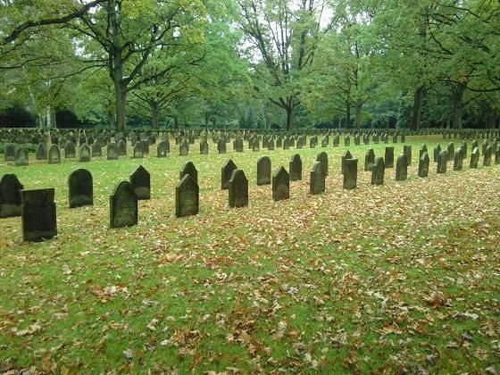 Gräberfelder – für die Gefallenen des ersten Weltkrieges - Friedhof Ohlsdorf/Hamburg © Jan Einar Albin