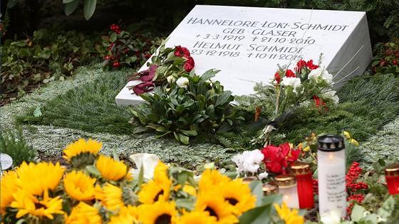 Grab von Helmut und Loki Schmidt