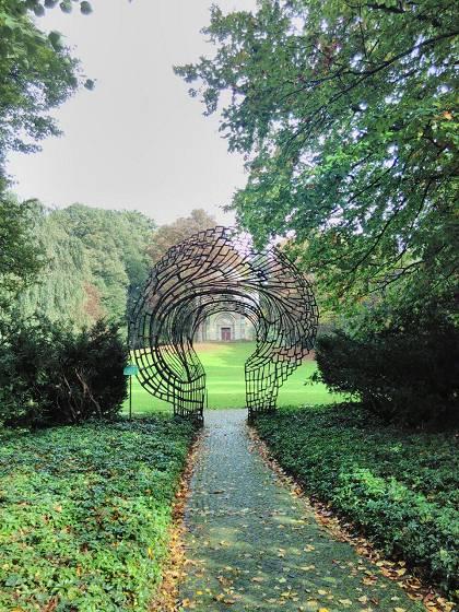 Weg zum anonymen Urnenhain - Friedhof Ohlsdorf/Hamburg © Jan Einar Albin