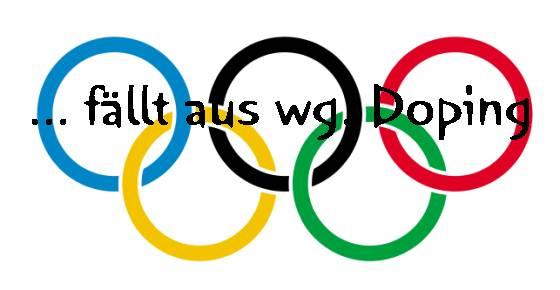 Olympia 2016 in Rio … fällt aus wg. Doping