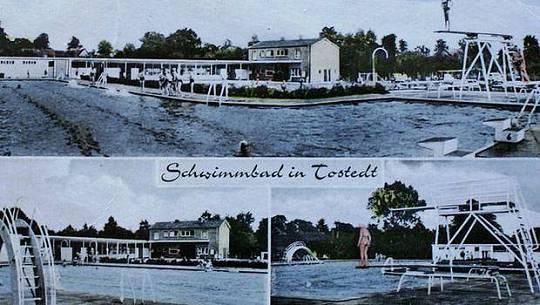 Freibad Tostedt – Postkarte aus den 60er Jahren