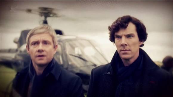 Sherlock, die Fernsehreihe der BBC: Dt. John Watson und Sherlock Holmes
