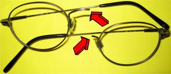 Sollbruchstelle Brille