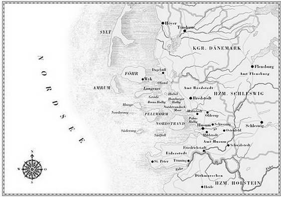 Husum und Umgebung im 19. Jahrhundert