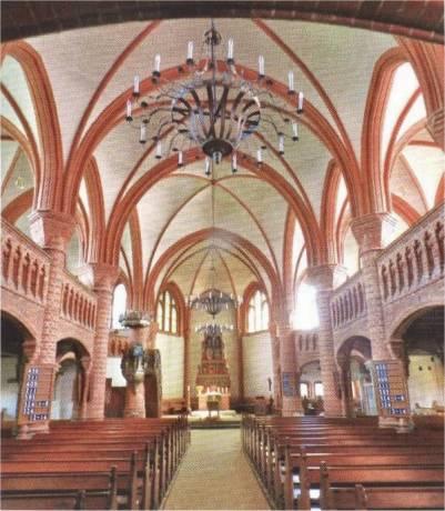 Johanneskirche in Tostedt, erbaut 1880