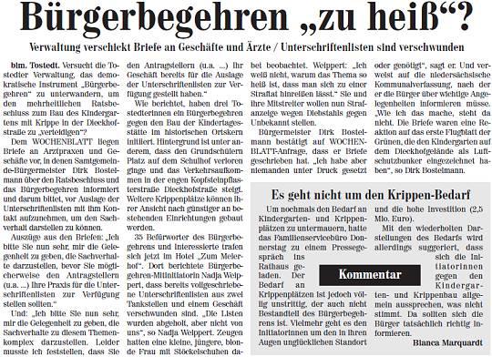 Kreiszeitung Nordheide Elbe&Geest Wochenblatt vom 17.11.2012 – Seite 8