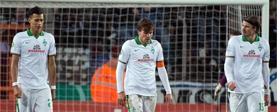 DFB-Pokal-Aus 04.03.2015: Arminia Bielefeld – Werder 3:1