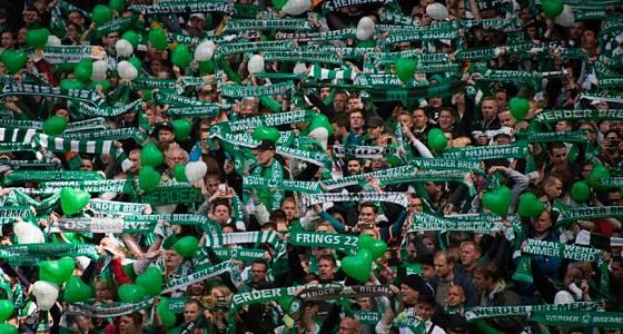 Fans des SV Werder Bremen