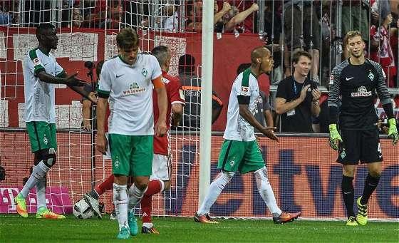 Bundesliga 2016/17 – 1. Spieltag: Bayern München – SV Werder Bremen 6:0