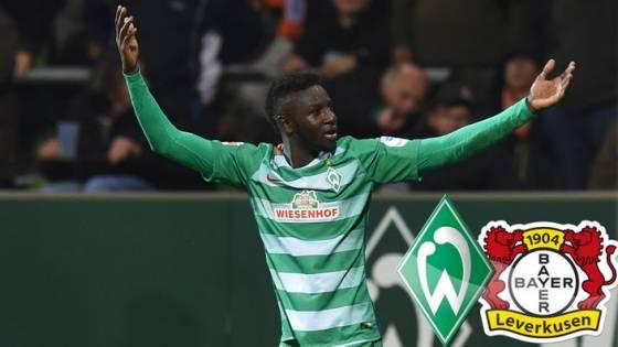 SV Werder Bremen – Leverkusen 2:1: Ousman Manneh nach dem Siegtreffer