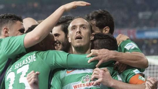 SV Werder Bremen – Schalke 04 3:0 – Kruse und Co. feiern