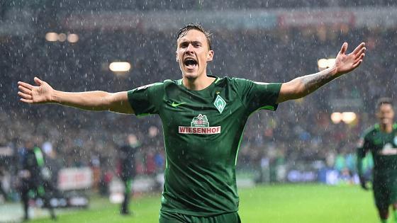 Fußball-Bundesliga 2017/2018: SV Werder Bremen – Hannover 96 4:0 – Max Kruse mit Hattrick