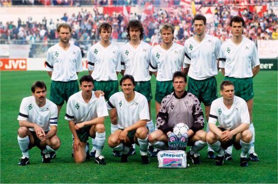 Europapokal der Pokalsieger – Finale 1992 Startelf des SV Werder Bremen