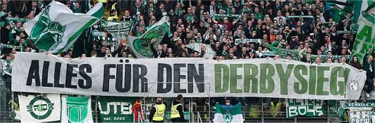 Werder Bremen: Alles für den Derbysieg!