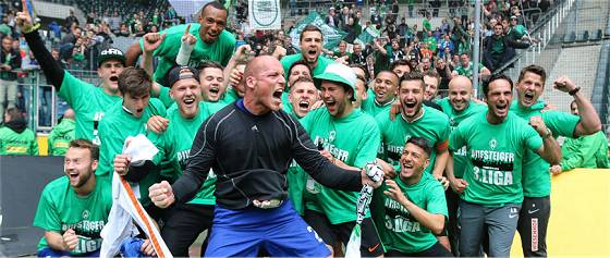 Aufstieg in die 3. Liga 2015: SV Werder Bremen U23