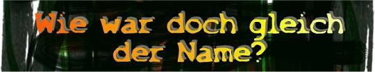 Wie war doch gleich der Name? | Dialoge
