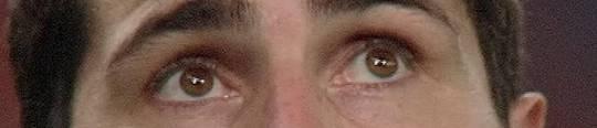 Iker Casillas' traurige Augen ...
