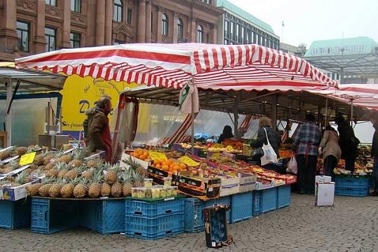 Wochenmarkt Bremen Domshof