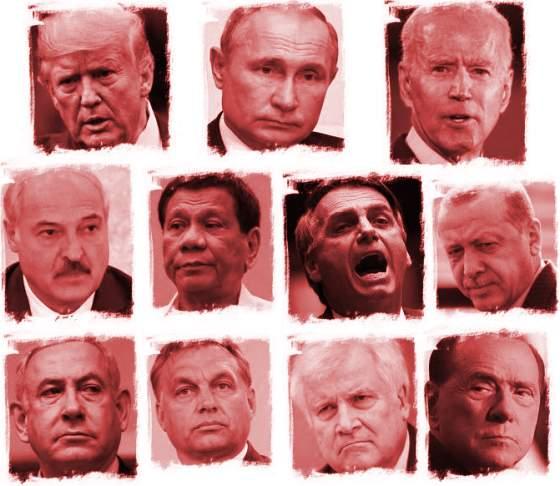 Warnung vor alten, weißen Männer! (nur eine Auswahl!)