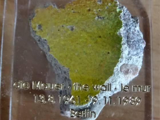 ... die mauer - the wall - le mur ... 13.08.1961 - 09.11.1989