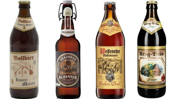 Vier dunkle Biere aus Franken (1)
