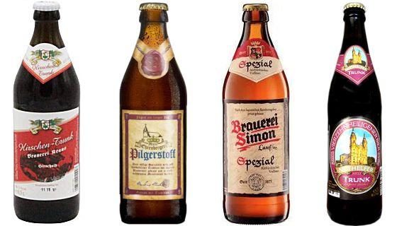 Vier dunkle Biere aus Franken (2)
