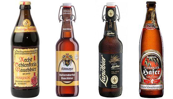 Vier dunkle Biere aus Franken (3)