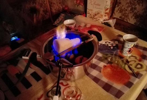 Man(n)/Frau gönnt sich ja sonst nichts: Feuerzangenbowle zu Heiligabend - © Lukas Albin