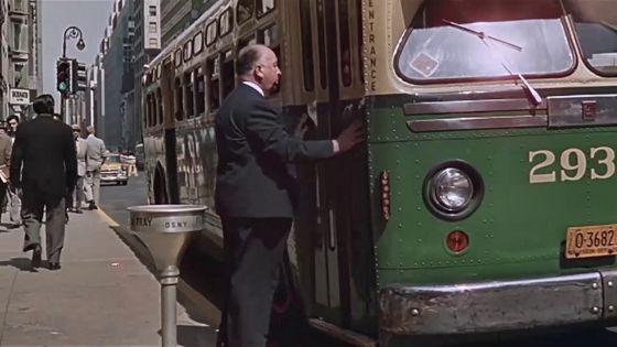 Alfred Hitchcock: Der unsichtbare Dritte (1959): Hitchcocks Cameo-Auftritt