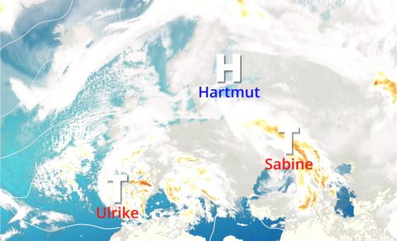 Hoch Hartmut bringt Eiseskälte aus Sibirien