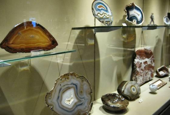 Deutsches Mineralienmuseum Idar-Oberstein – Achat