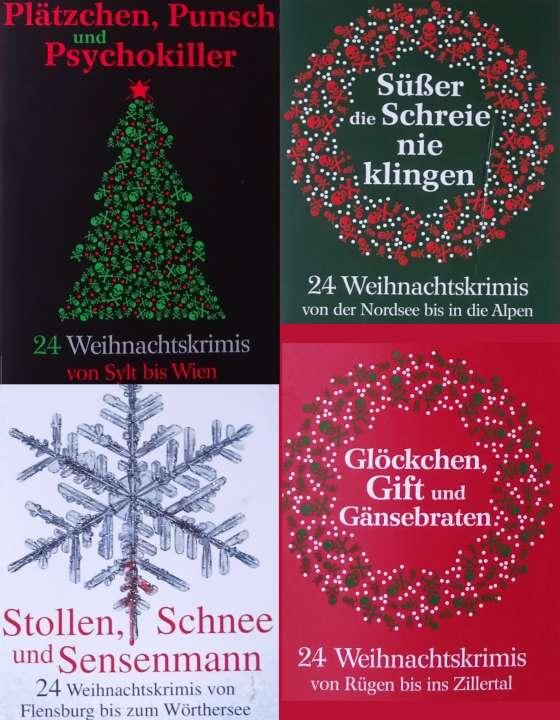 Tödliche Weihnachten: jeweils 24 Weihnachtskrimis aus dem Hause Knaur